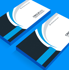 Online visiting card design